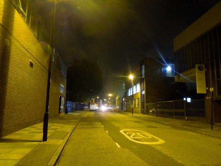 久しぶりに夜歩くのがコワイかもと感じた通り