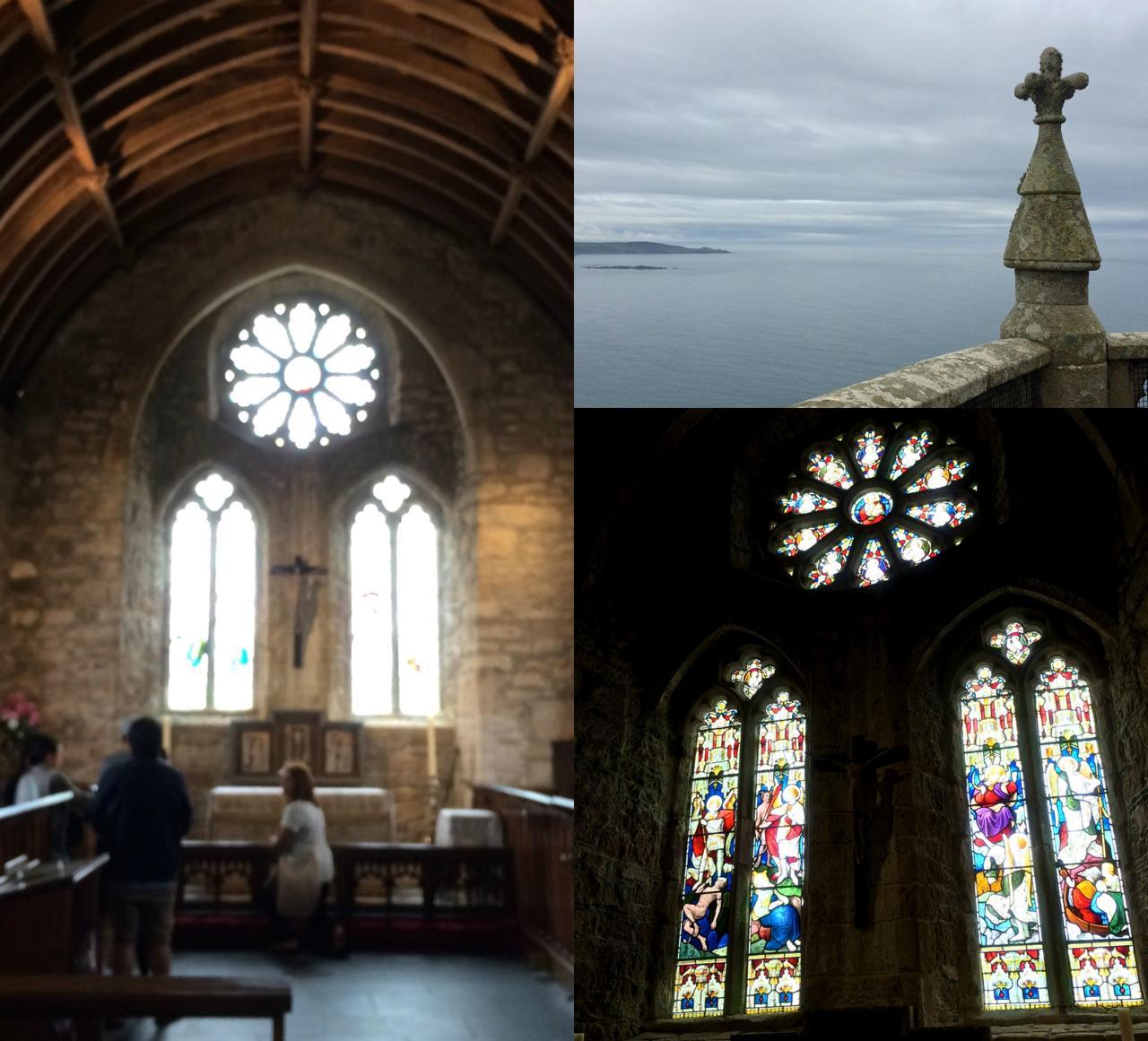 海を見下ろすベネディクト派修道院