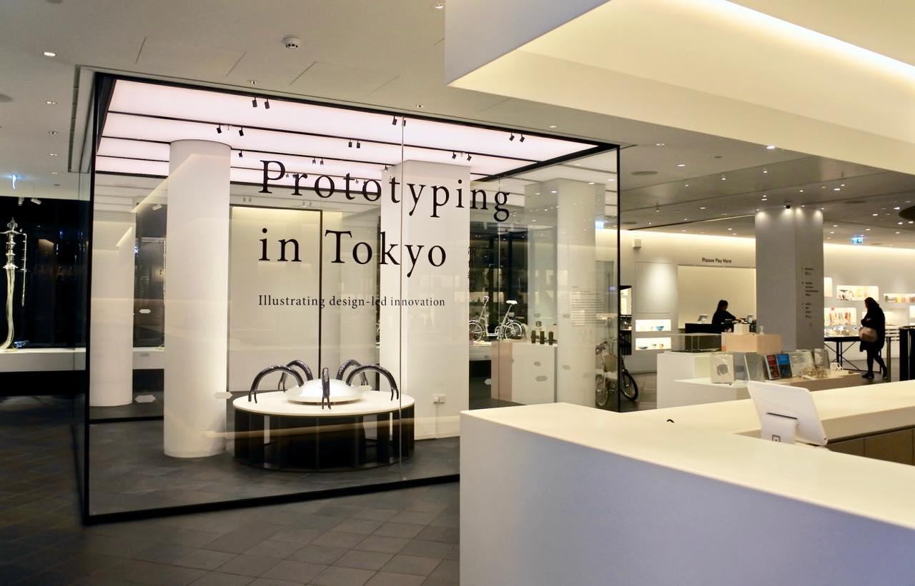 ジャパン・ハウスでの展覧会は1階からすでに始まってます! メイン会場は地下。
