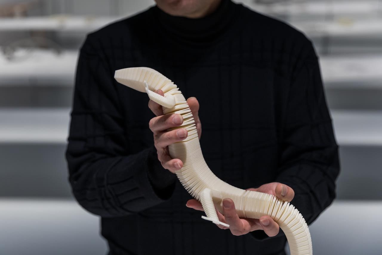 本物みたいな動きをするトカゲのプロトタイプ ©️Jeremie Souteyrat