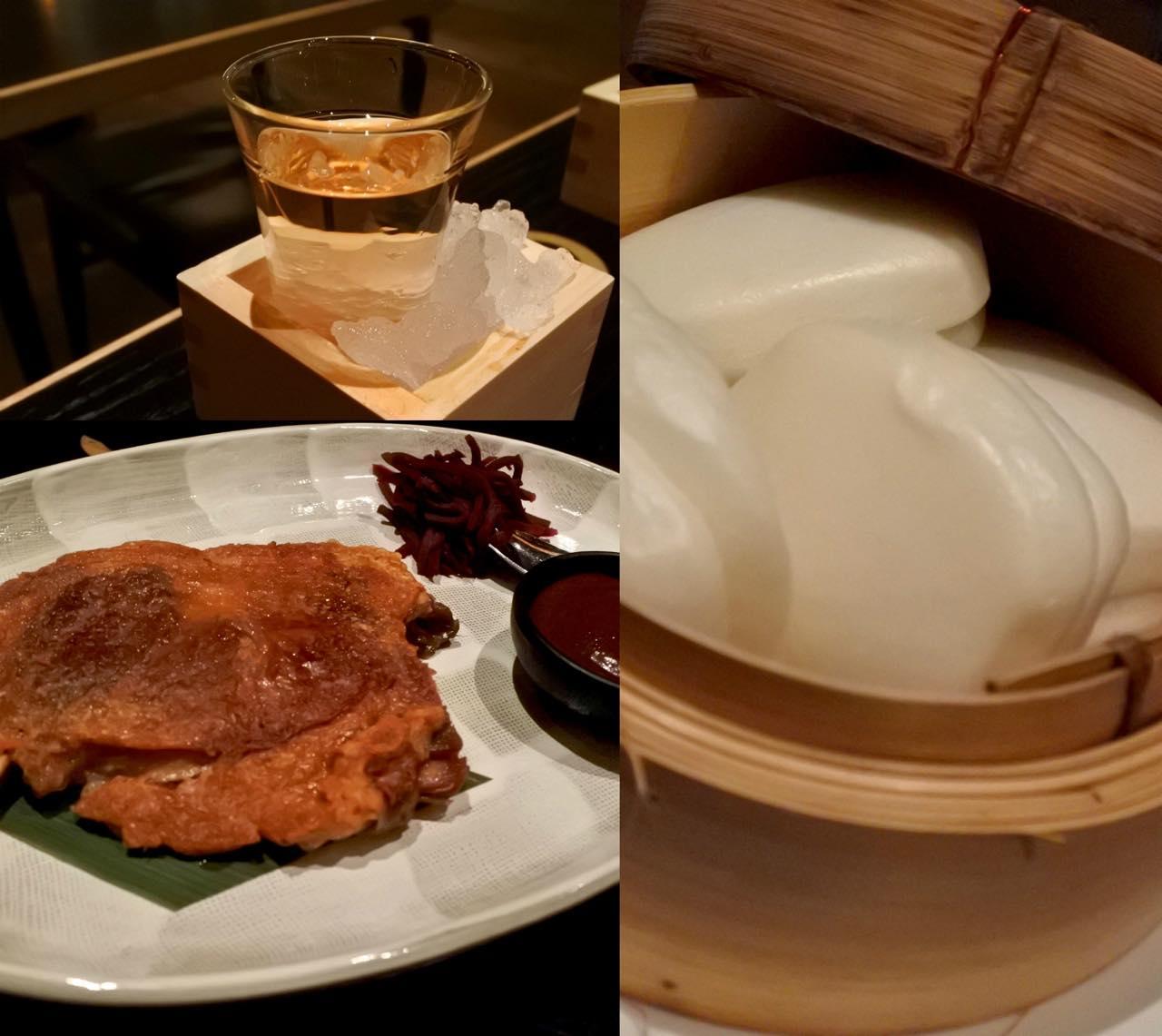 ダック・レッグは中華風の甘味噌で。バンズは別注文となりますが、2つは軽くペロリと食べられます ^^