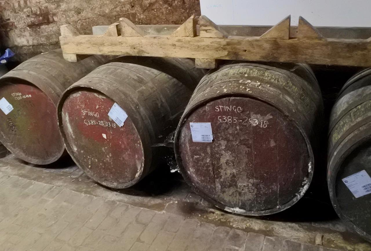 これはモルト・ウイスキーの樽を利用した
